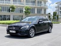 Cần bán Mercedes C200 màu đen ĐK và Sx cuối 2017 1 đời chủ, odo 18000 km