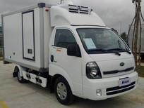 Bán Thaco Frontier K200 thùng đông lạnh đời 2021, màu trắng