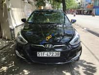Cần bán lại xe Hyundai Accent sản xuất năm 2013, màu đen, nhập khẩu số tự động, giá 350tr
