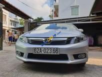 Bán xe Honda Civic 2.0 AT sản xuất 2013, màu bạc giá cạnh tranh