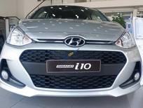 Tặng 15 triệu phụ kiện Hyundai Grand i10 năm 2019, màu bạc, giá chỉ 330 triệu. Hỗ trợ thủ tục vay nhanh gọn