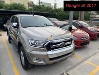 Bán Ford Ranger XLT đời 2017, màu vàng, xe nhập