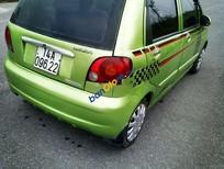 Bán Daewoo Matiz SE đời 2008, màu xanh cốm, đăng kiểm còn dài, tư nhân đi kỹ.
