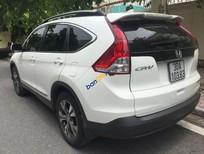 Cần bán Honda CR V 2.4AT đời 2014, màu trắng, dàn lốp mới