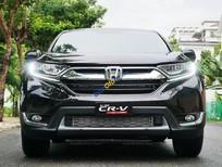 Bán Honda CR V 1.5G sản xuất năm 2019, màu đen, nhập khẩu