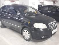 Cần bán Daewoo Gentra đời 2010, màu đen, nhập khẩu