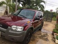 Cần bán Ford Escape năm 2002, màu đỏ