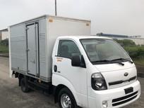 Bán ThacO Frontier K200 thùng kín bửng nâng đời 2020, màu trắng, 1.5 tấn