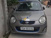 Cần bán lại xe Kia Morning năm sản xuất 2010, màu xám