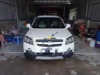 Cần bán lại xe Chevrolet Captiva sản xuất 2009, màu trắng số sàn