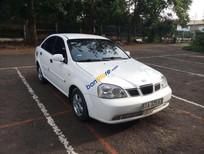 Cần bán gấp Daewoo Lacetti năm 2005, màu trắng xe gia đình, giá tốt