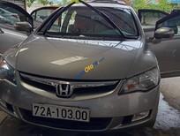 Cần bán xe Honda Civic 2.0 AT sản xuất 2007, màu bạc