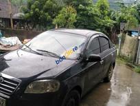 Cần bán Daewoo Gentra sản xuất 2010, màu đen, giá 160tr
