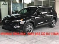 Cần bán Hyundai Santa Fe 2019, màu đen, giá cực tốt + Khuyến mãi hấp dẫn, LH: Hữu Hân 0902 965 732