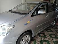 Bán xe cũ Toyota Innova MT năm sản xuất 2008, màu bạc