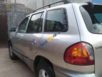 Cần bán lại xe Hyundai Santa Fe Gold năm sản xuất 2004, màu bạc, nhập khẩu, giá tốt