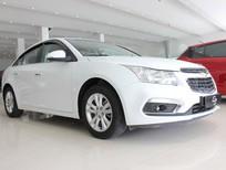 Cần bán lại xe Chevrolet Cruze LT 2017, màu trắng, nhập khẩu chính hãng, hỗ trợ trả góp