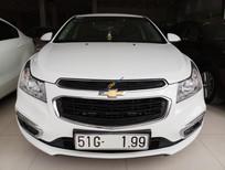 Bán Chevrolet Cruze LT 1.6MT sản xuất năm 2017, màu trắng số sàn