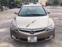 Cần bán lại xe Honda Civic 1.8 AT sản xuất năm 2009, màu vàng, nhập khẩu