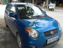 Cần bán lại xe Kia Morning năm sản xuất 2008, màu xanh lam, nhập khẩu nguyên chiếc