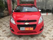 Xe Chevrolet Spark 1.2 sản xuất 2016, màu đỏ