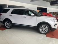 Bán Ford Explorer Limited năm 2019, màu trắng, nhập khẩu nguyên chiếc