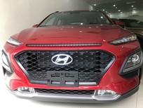 Bán Hyundai Kona 1.6 Turbo đỏ 2021, tặng 10-15 triệu - nhiều ưu đãi