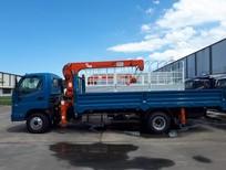 Bán ô tô Thaco Ollin 120 tải cẩu 2021, màu xanh lam, giá tốt