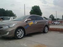 Cần bán gấp Hyundai Accent năm 2013, màu nâu, xe nhập