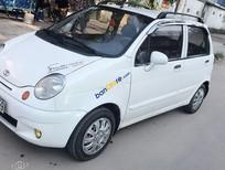 Gia đình bán xe Daewoo Matiz SE năm sản xuất 2008, màu trắng