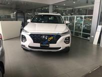 Bán xe Hyundai Santa Fe năm sản xuất 2019, màu trắng, giá 1 tỷ 060