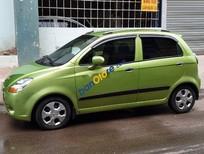 Bán xe cũ Chevrolet Spark sản xuất năm 2010, màu xanh lục