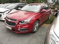 Cần bán Chevrolet Cruze LTZ năm sản xuất 2017, màu đỏ số tự động