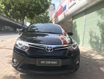 Cần bán gấp Toyota Vios G2017, số tự động, màu đen, xe chất