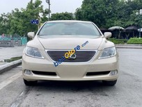 Cần bán gấp Lexus LS 460L năm sản xuất 2008, màu vàng, xe nhập