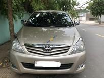 Cần bán gấp Toyota Innova G năm 2010, màu vàng, xe nhập xe gia đình, giá tốt