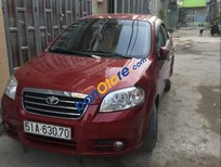 Bán Daewoo Gentra sản xuất năm 2010, màu đỏ, giá 195tr