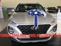Hyundai Sông Hàn bán Hyundai Santa Fe 2020, màu bạc, LH: 0902 965 732 Hữu Hân để ép giá