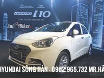 Cần bán Hyundai Grand i10 2019, màu trắng, xe giao ngay, LH: Mr. Hân Hyundai: 0902.965.732