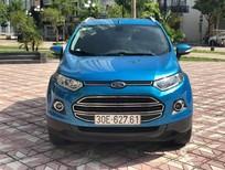 Cần bán Ford EcoSport Titanium 2016, màu xanh, chính chủ từ đầu đi hơn 3 vạn, giá tốt