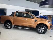 Bán Ford Ranger Wildtrak năm sản xuất 2019, màu vàng, nhập khẩu