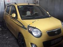 Bán xe Kia Morning SX 1.1 MT Sport sản xuất 2011, màu vàng xe gia đình