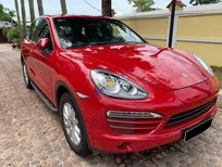 Bán lại xe Porsche Cayenne năm sản xuất 2013, màu đỏ, nhập khẩu