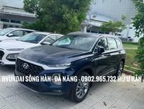 Cần bán Hyundai Santa Fe năm sản xuất 2019, màu xanh lam, xe nhập, giá chỉ 995 triệu