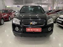 Cần bán lại xe Chevrolet Captiva 2.4MT năm sản xuất 2007, màu đen số sàn