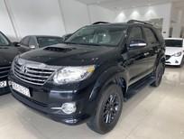 Cần bán xe Toyota Fortuner 2.5G năm 2016, màu đen số sàn, giá tốt