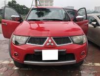 Bán ô tô Mitsubishi Triton GLS sản xuất 2010, màu đỏ, nhập khẩu số sàn
