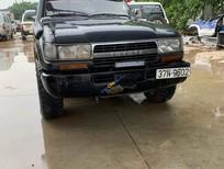 Xe Toyota Land Cruiser sản xuất 1993, màu xám