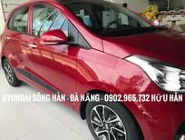 Bán xe Hyundai i10 2019, màu đỏ, 330tr hỗ trợ đăng kí grap, giao xe tận nhà, LH: Hữu Hân 0902 965 732