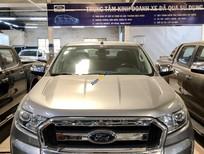 Cần bán Ford Ranger 2.2L XLT 4x4 MT sản xuất năm 2016, màu bạc, nhập khẩu nguyên chiếc